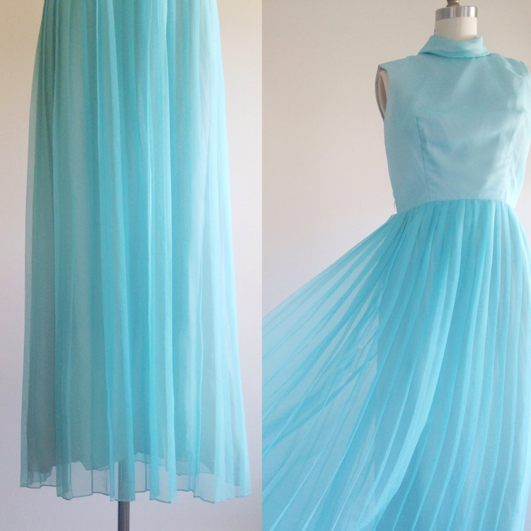 a72f2d32232 409-Blue dress- Blue gown- Baby blue dress- Formal dress — The Ivy ...