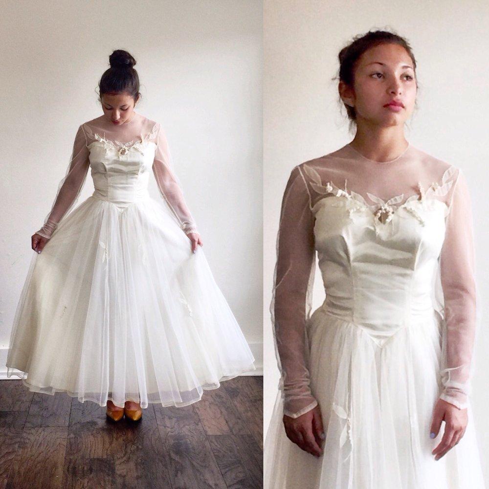 1950s Dress 50s Wedding
