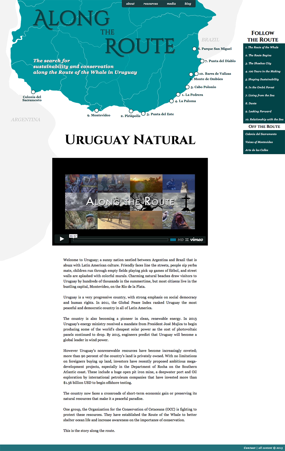 multimedia journalism website