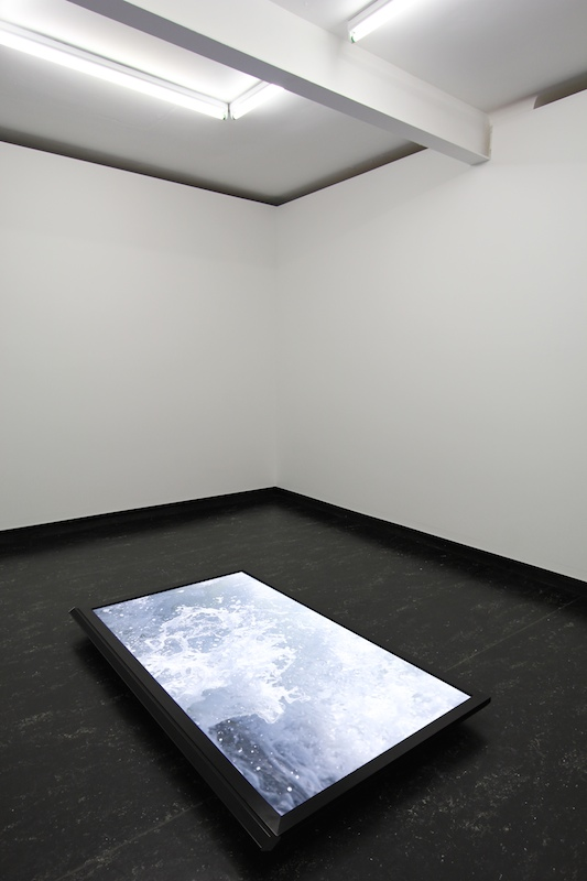 Nick Garner  Ferry Piece , 2012 Video, 12min 17sec Installation view at Firstdraft, Sydney