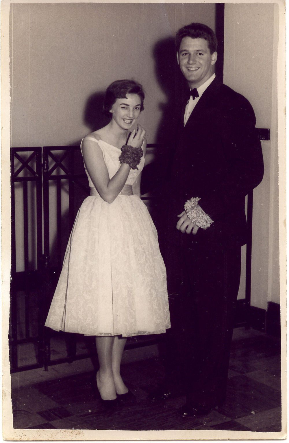 M & D at Xavier Ball late 1954.jpg