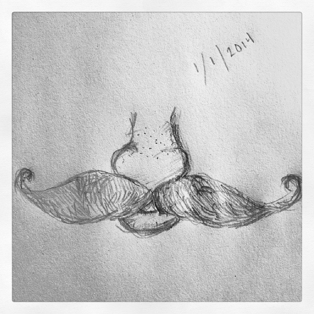 Moustache a-roony