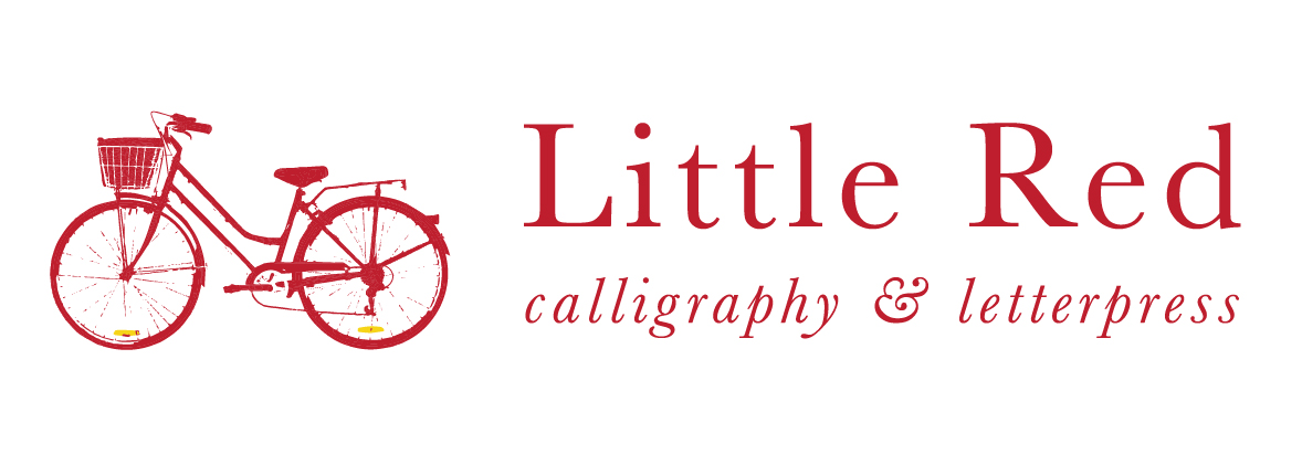 Little Red Calligraphy and Letterpress