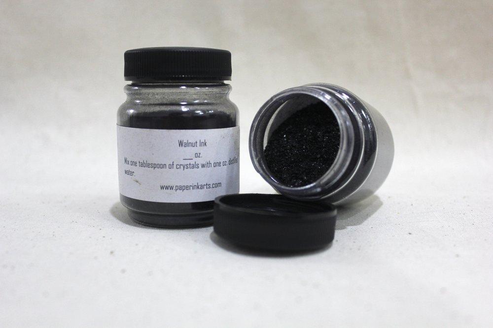 Walnut Ink or Crystals ★ / 45ml ($4) / 85ml ($7) / 1oz. crystals ($20)
