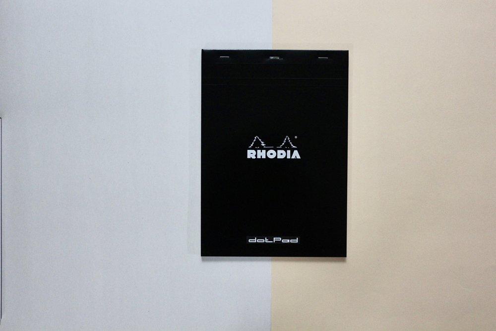 Rhodia Basics /  A4 Dot Pad  ★ 80 sheets ($10)