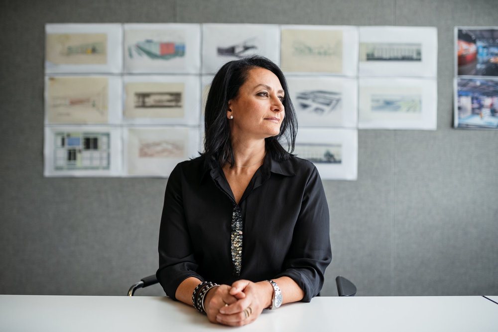 """""""Things are better now,"""" said Sharon Gauci, executive director for industrial design at General Motors, who was one of only two women in her industrial design class in college.   Nick Hagen for The New York Times"""