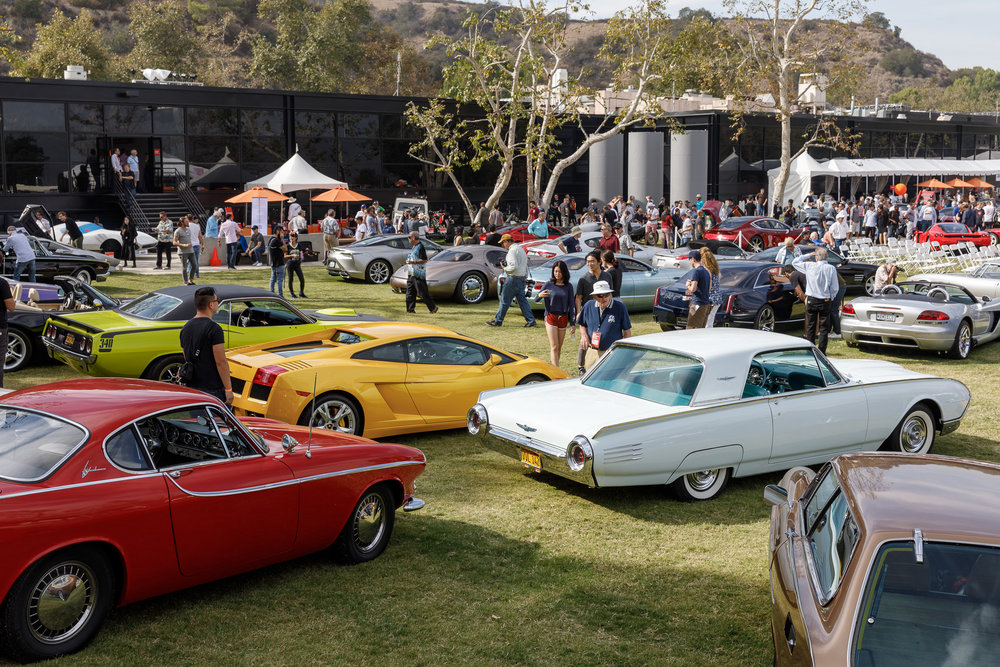 A carefully curated collection of 100 vehicles were on display at Car Classic 2018. Photo credit: © ArtCenter College of Design/Juan Posada