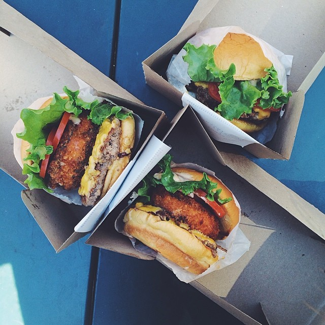 10. The one and only #ShakeShack  11-12. Feasting out with these two feat #Katzs from  When Harry Met Sally