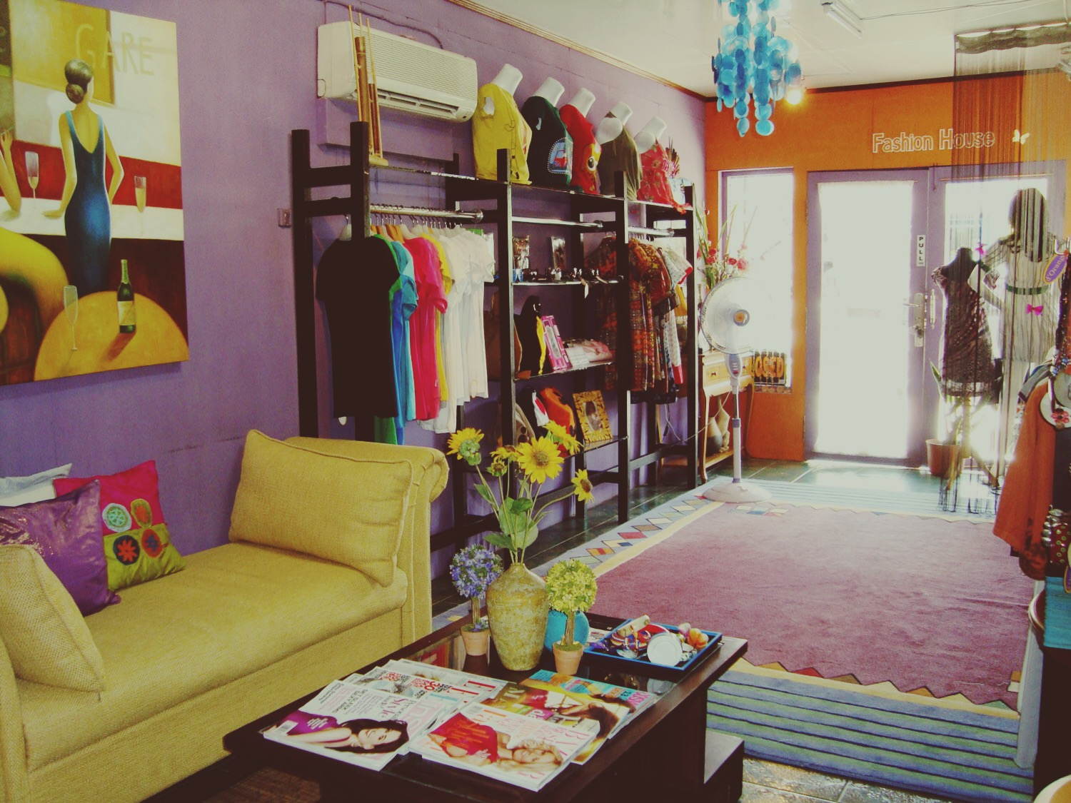 my first small boutique in 2006