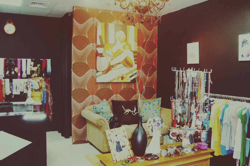 my boutique in 2007 after moving to a new location.