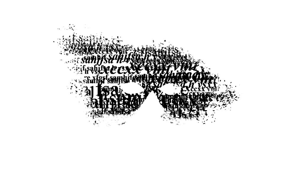 Pensare all'attore come ad un veicolo vivente di cultura, uno spettatore attivo, partecipe, protagonista quanto l'attore stesso. Da qui l'idea che il teatro sia, di fatto, il luogo di tutti e che i veri personaggi siano le idee di ciascuno. E' bastata un'icona, dai mille significati, qual'è la maschera, ed un volto, dalle mille identificazioni, per visualizzare un concetto così difficile in maniera semplice.  Lettering: discreto.  Morbida la font scelta, asettico l'impaginato che vive di bianco (respiro) e pulizia formale (essenzialità). Quasi disarmante la discrezione dei testi, rivela una grande leggibilità e sostiene la forza visiva delle immagini.  © Cristina Locatelli © Franca Ruggeri