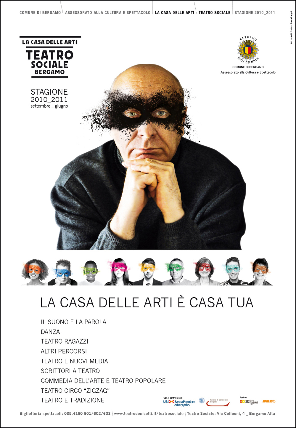 manifesto 70X100 cm, stagione 2010_2011