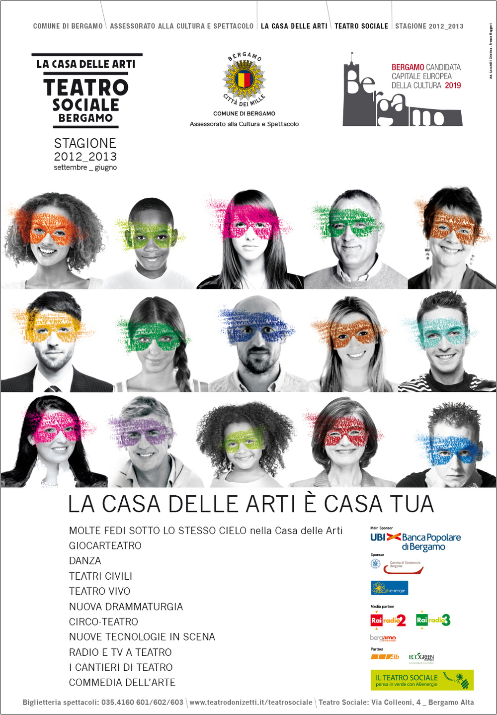 manifesto 70X100 cm, stagione 2012_2013