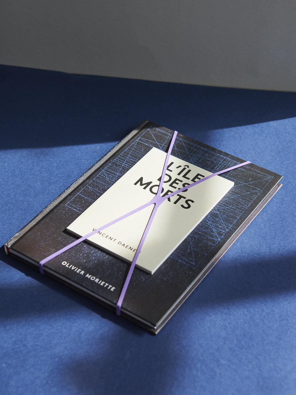L'Île des morts / Livre d'artiste avec Olivier Moriette & Vincent Daenen