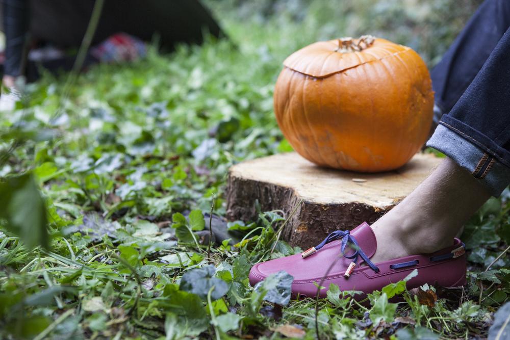 Pumpkin feet