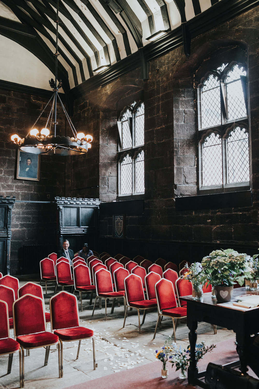 Chetham's Library Wedding Room.