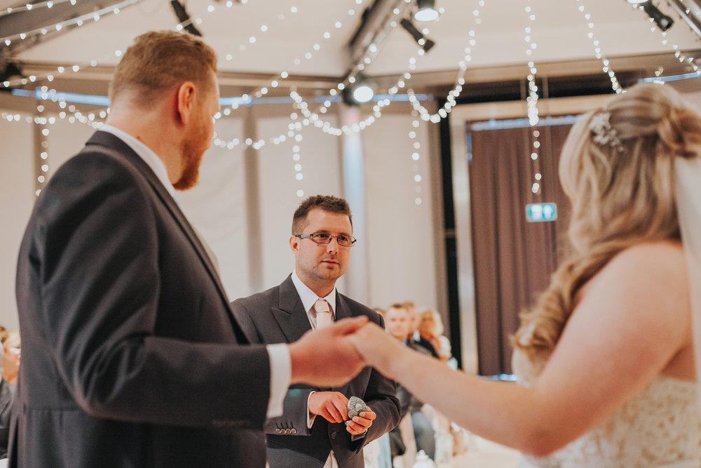 Best Man Delivers Brides Ring