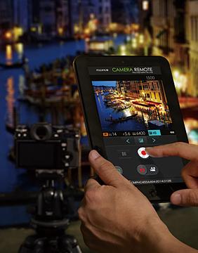 Fujifilm Kameras bieten hervorragende Fernsteuerungsmöglichkeiten via iOS und Android-App