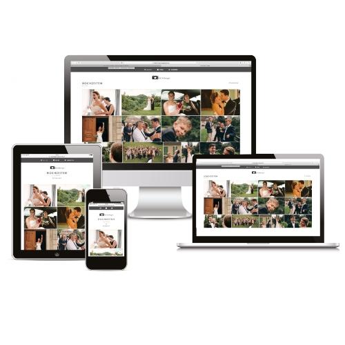 Bei JEDER Buchung ist eine kostenlose Online-Galerie mit Download- und Sharing-Möglichkeiten inklusive - kompatibel mit allen Plattformen inklusive iOS und Android.Auf Wunsch auch passwortgeschützt.