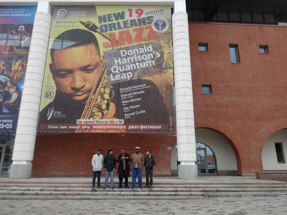 Donald Harrison and Quantum Leap in Russia