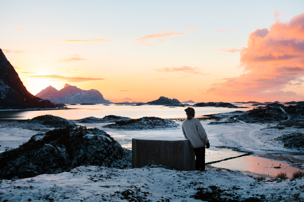 Steigen, Norway. Story about artist Hugo Aasjord in todays issue of D2 Magazine.