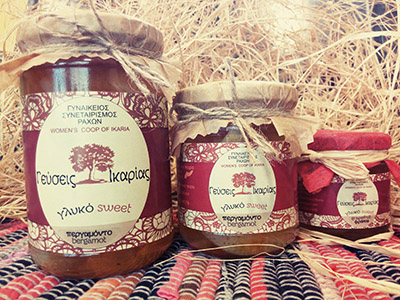 Women's Co-operative products - Taste Ikaria    Ikaria Island