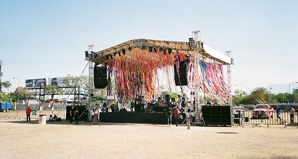 Stage at Nrmal Festival, Monterrey, México