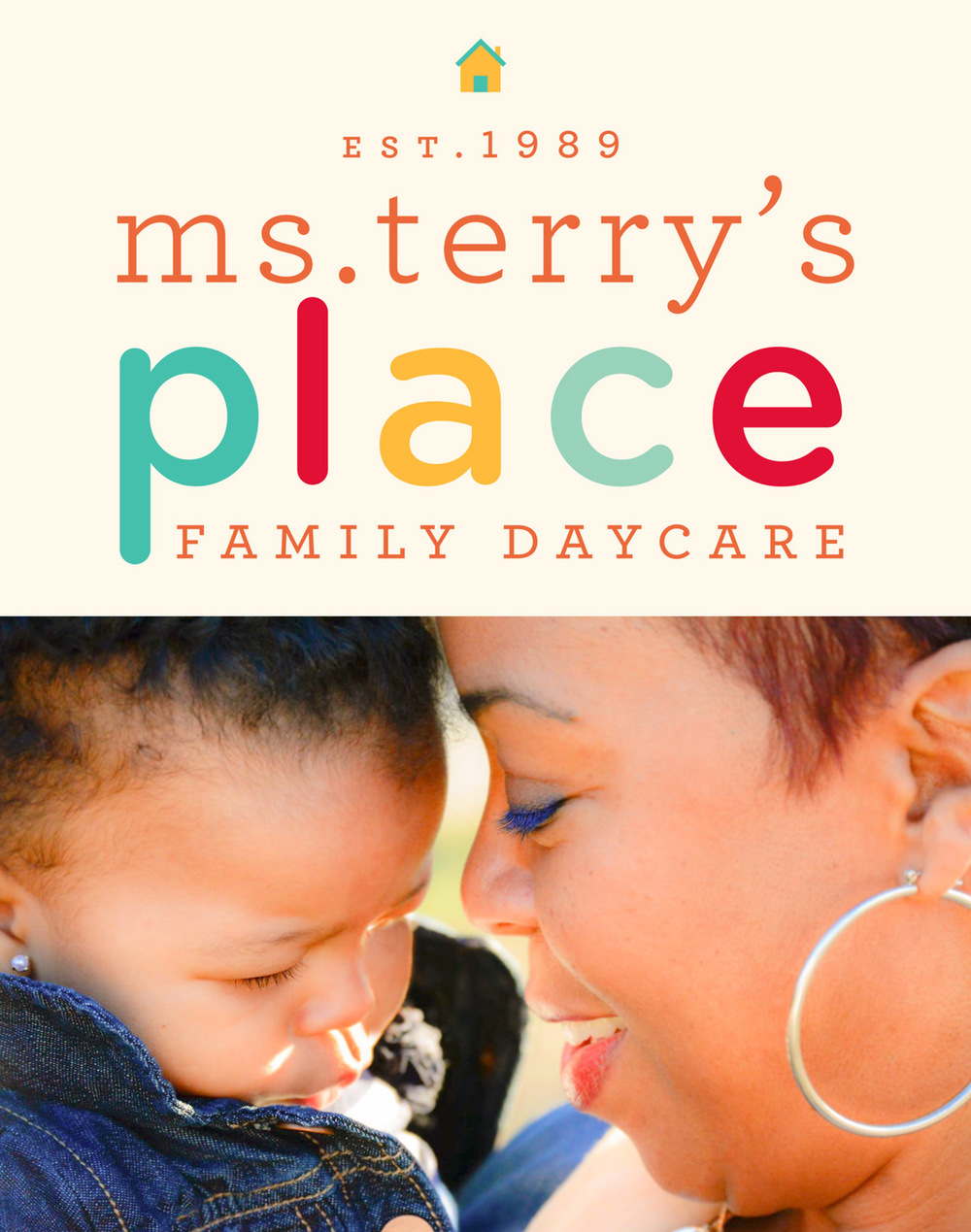 Client: Ms.Terry's Family Daycare Fields: Art Direction, Branding, Logo Design, Graphic Design, Illustration