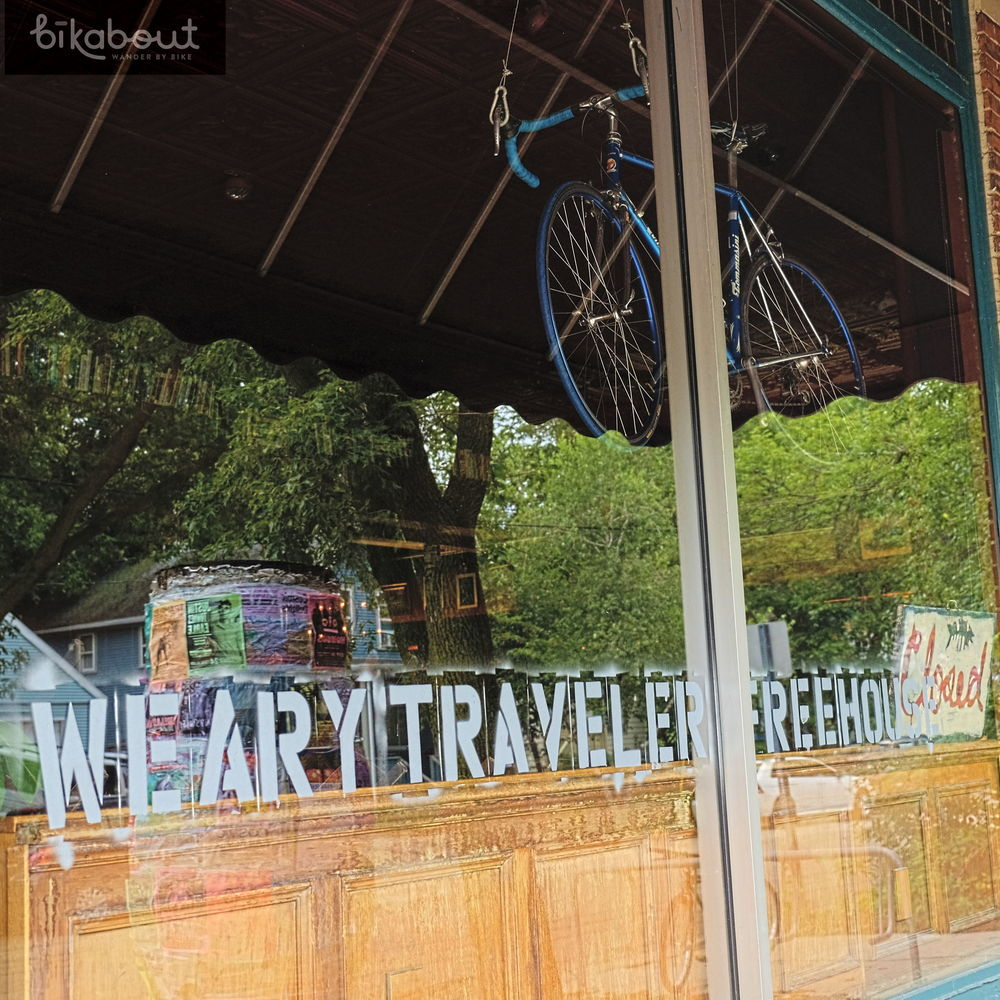 Our favorite local hangout, the Weary Traveler serves excellent, yet nicely priced, food and has a great bar and atmosphere