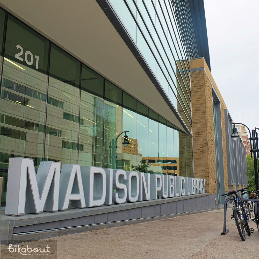 The Madison Public Library was recently renovated and includes a great kids wing