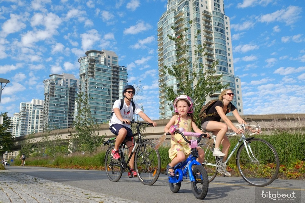 Bike Trail around False Creek