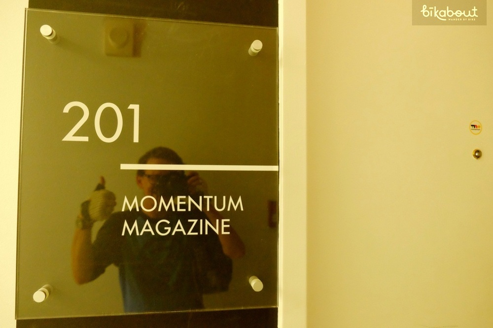 Momentum Magazine's office
