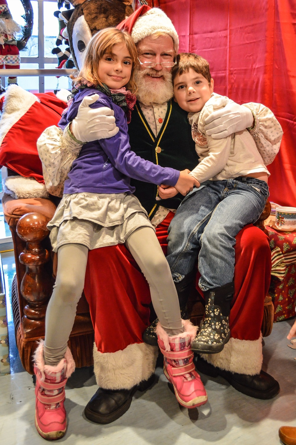 Santa! at Granville Island Kids' Market