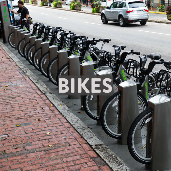 Bikes in Boston