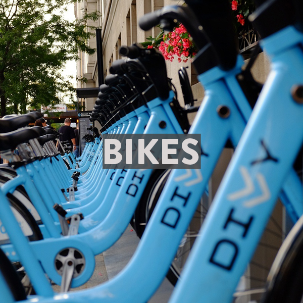 Finding bike rentals in Chicago