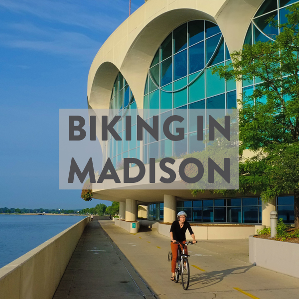 how to bike in madison