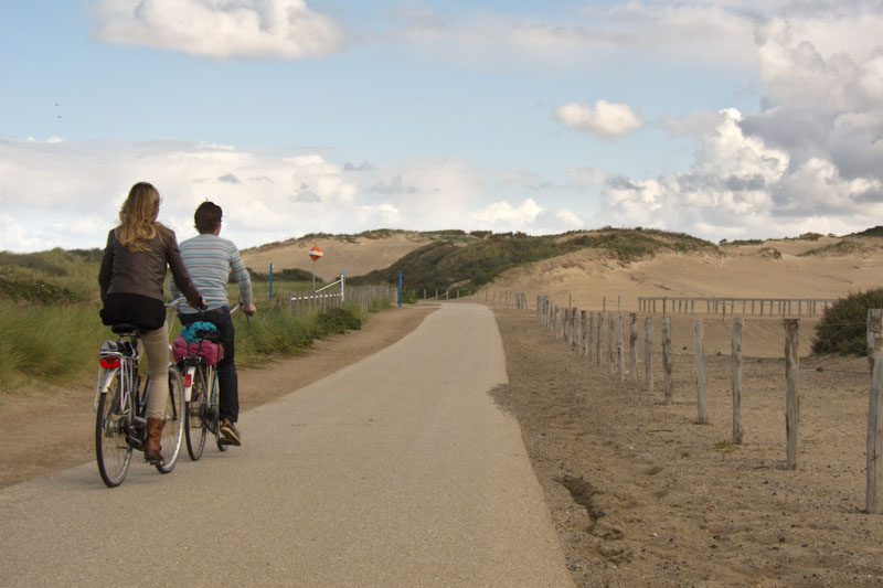 Netherlands' Dunes. Photo by holland-cycling.com
