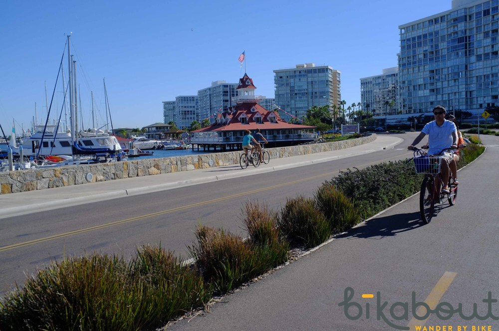 Bay Shore Bikeway is accessible via a bike friendly ferry.