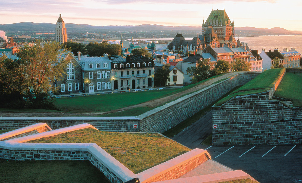 Quebec City is one of the most beautiful cities in the world.