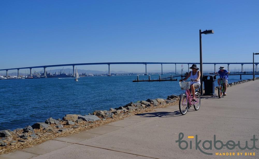 San Diego has many waterside trails