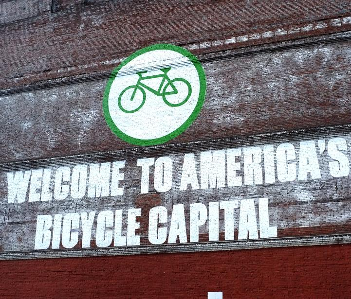 "Mural should be amended to ""America's Bicycle & Gluten-Free Capital"""