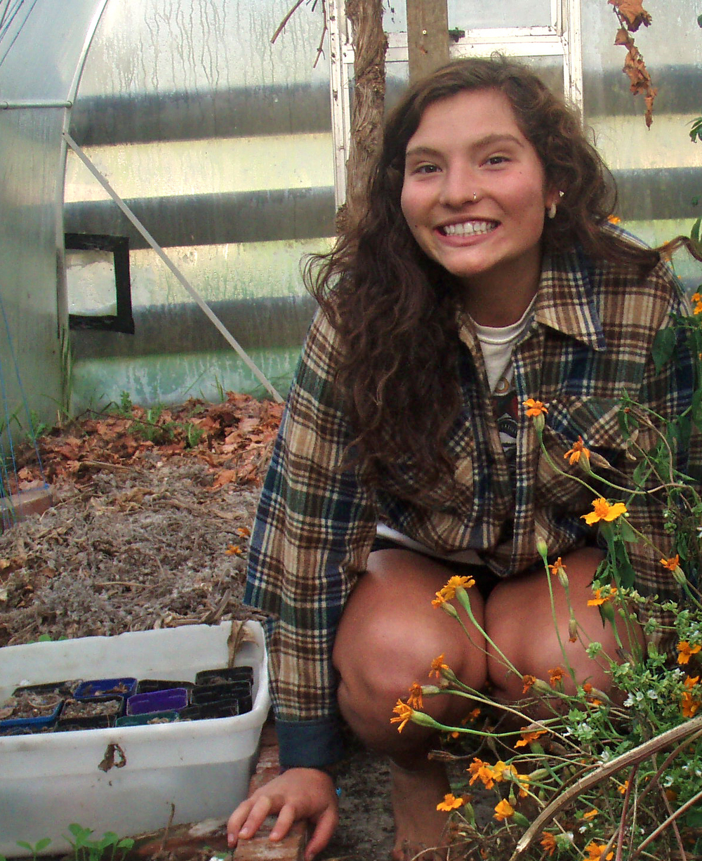 Lucy Roberts is the route curator and is passionate about community gardening as a volunteer at Urban Farm Collective.
