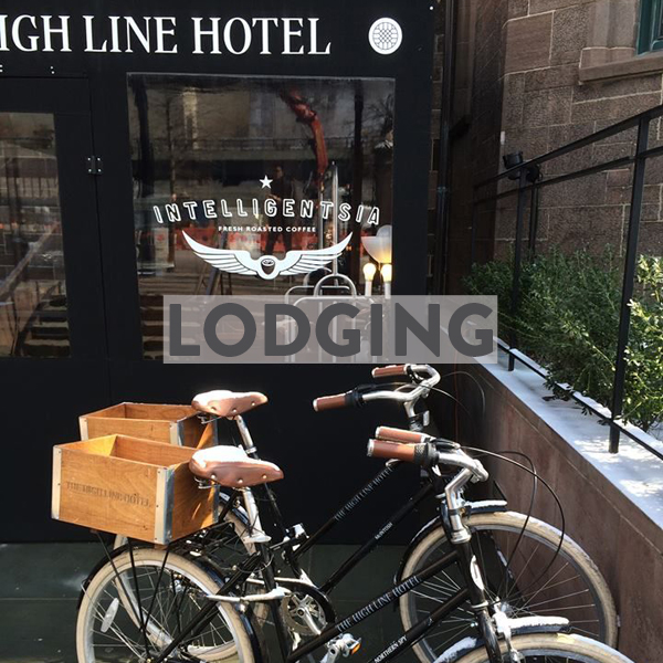 Bike Friendly Hotels & Airbnbs in New York City