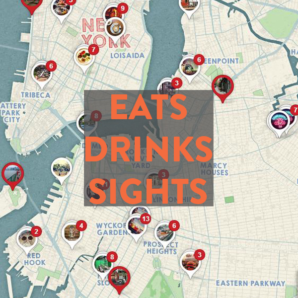 Best eats, drinks and sights by bike in New York City