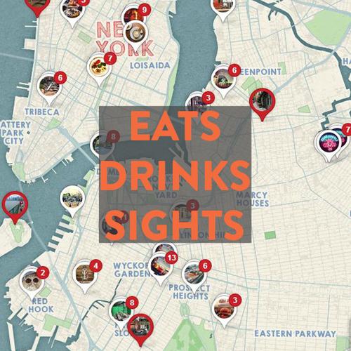 Bike New York Map.Brooklyn By Bike Bikabout