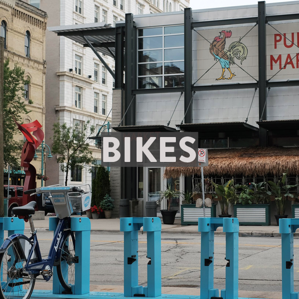 Bike Rentals in Milwaukee