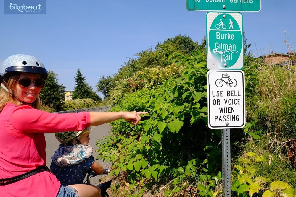 Burke-Gilman trail etiquette