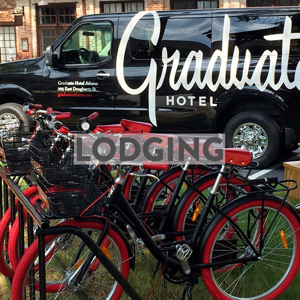 Bike Friendly Hotels & Airbnbs in Atlanta and Athens