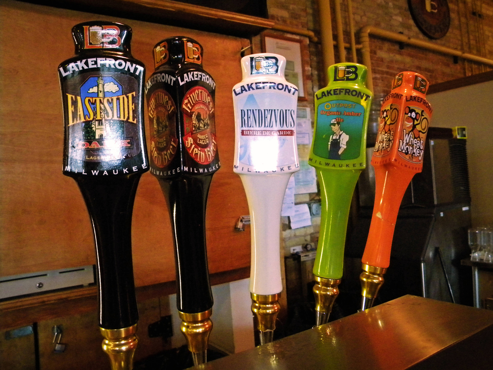 LakeFront Breweries Taps