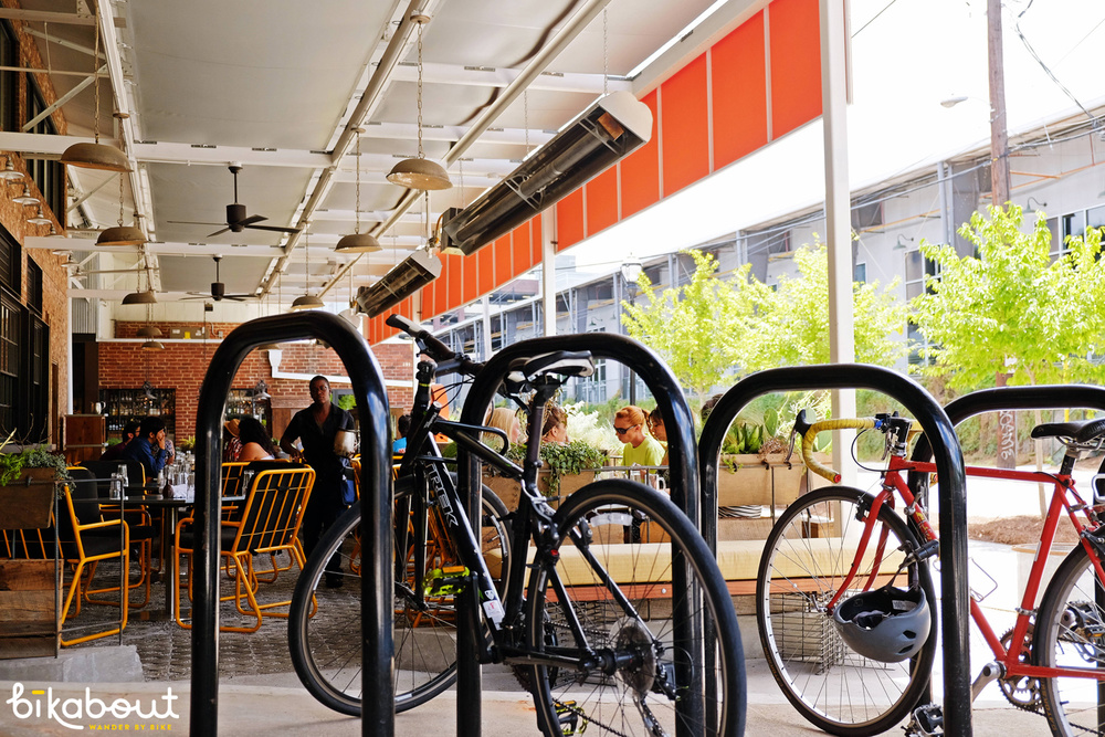 Bike Racks at Krog Street Market